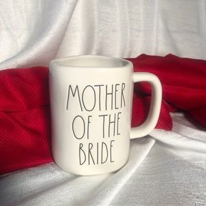 RAE DUNN MOTHER OF THE BRIDE MUG LL WEDDING BRIDAL